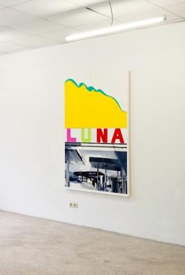 Y U L E S LUNA – acryl on canvas